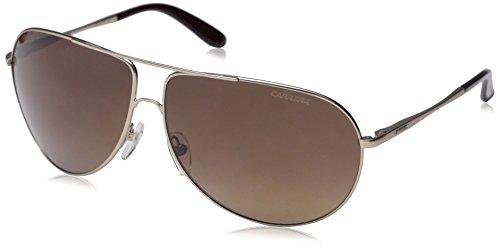 Carrera New Gipsy/s Aviator Sunglasses, Semi Matte Gold/Brown Gradient, 64 mm by Carrera