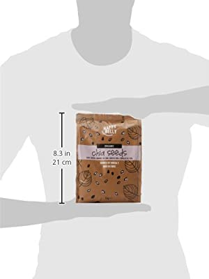 Marca Amazon - Happy Belly Semillas de chía orgánica, 1000 g