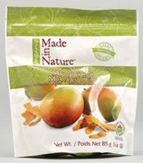 Made In Nature Dried Mango, 3 Ounce - 12 per case.