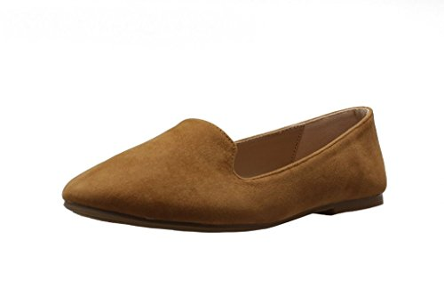 Forever Diana-81 Loafers Shoes Tan 8