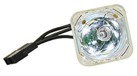 Replacement for APO APOG-9462 Bare LAMP ONLY Projector TV Lamp Bulb ()