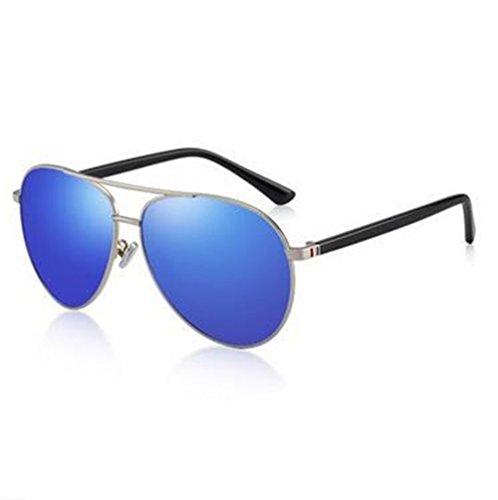 Of polarizadas Lente Conducir de de Rana Hombres Ice Banda Producto Blue 350 350 Sol Degrees Gafas Azul de Gafas Licencia KOMNY los Miopía Grados Lentes Hielo Acabado Sol de wxF66nX