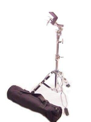 BONGO STAND+GIG BAG, CHROME PRO DOUBLE BRACED PIVOT ADJUSTABLE LATIN Percussion