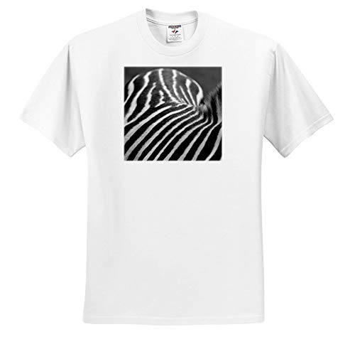 Stamp City - Animals - Photograph of a Zebras Back in Black and White. A mountian of Stripes. - T-Shirts - Toddler T-Shirt (4T) ()