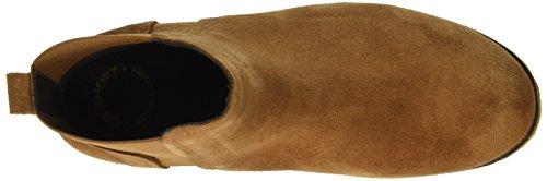 Chelsea Marron Boots A16030 Suede Ca'shott 55 cognac Femme vnH5Iq