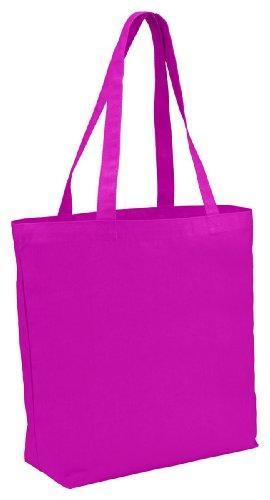 Augusta Sportswear Grocery Tote, Power Pink, One Size