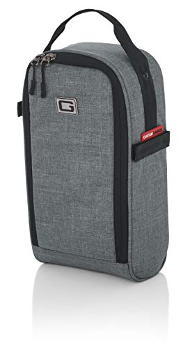 Gator Cases Transit Series Add-On Accessory Gear Bag; Grey Exterior (GT-1407-GRY)