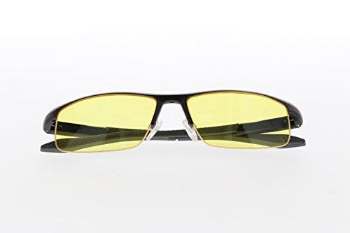 TNTi™ Billet Aluminum Frame eSport Pro Major League Gaming Glasses - Black Pearl by TNT interactive (Image #4)