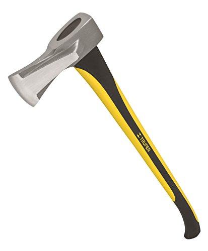 (Truper 32736 4.5-Pound Splitting Maul, 33-Inch Fiberglass Handle)