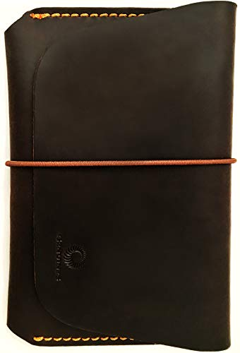 Leather Passport Holder for Men & Women - Genuines Wallet Case for 1 or 2 Passports (Vintage ()