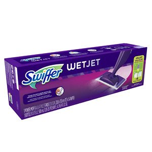 Swiffer Wetjet Spray Mop Floor Cleaner Starter Kit (Packaging May Vary) (1) ()