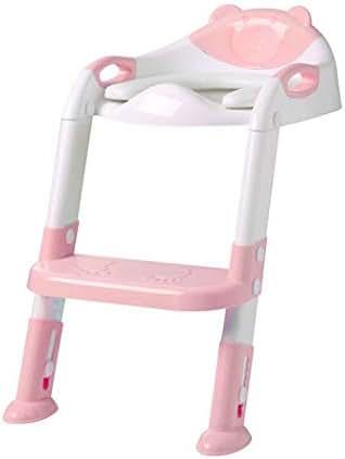 GoodKE Children Toilet Seat Baby Toilet Ladder Folding Toilet Potties & Seats