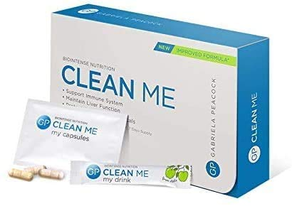 Clean Me 7 Days Supplements Kit That Boosts Immunity, Enhances The Liver Function and Protects Against Free Radicals – 7…