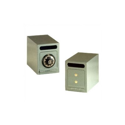 Under Counter Commercial Depository Safe Lock Type: Dual Key Lock, Size: Small
