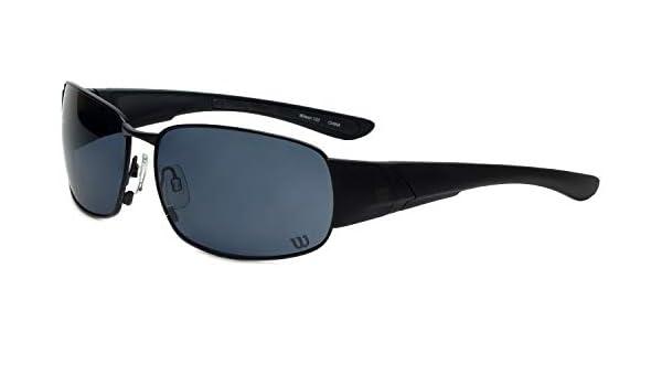 Amazon.com: Wilson 1025 Black Sunglasses: Clothing