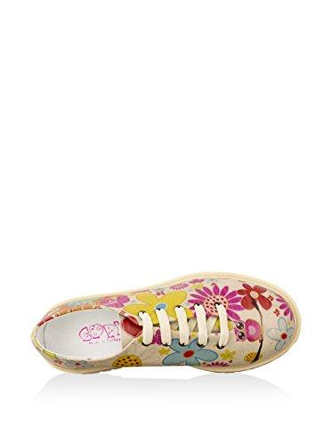 Beige Tmk6509 Zapatos Goby Mujer Mujer Tmk6509 Goby Zapatos Beige 8fwv8