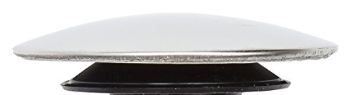 """PF WaterWorks Jumbo Cap for Sink Drain Cover-Up - Fits EasyPOPUP, HairFREE, ClogFREE, SinkSTRAIN Pop-Up Stoppers (Cap Dia 2.5""""); Chrome; PF0266"""