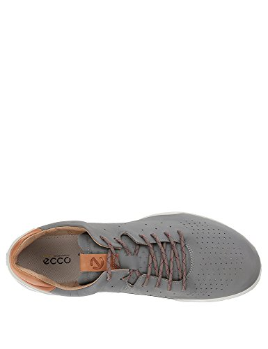 Leather Street Biom Ecco Men's Grey Sneakers q78qOt