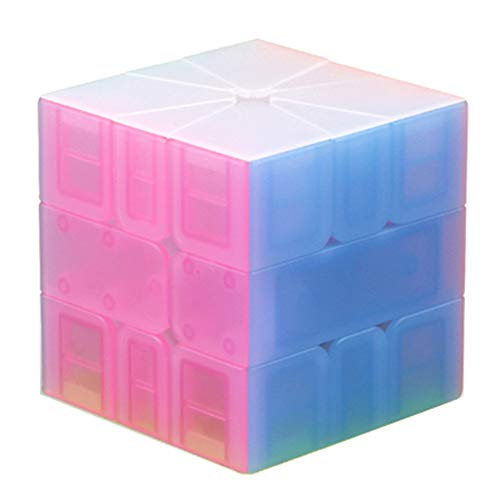 JIAAE Inspire SQ1 Rubik's Cube Children Puzzle Professional Competition Smooth Rubik Toy,Jelly by JIAAE (Image #2)'