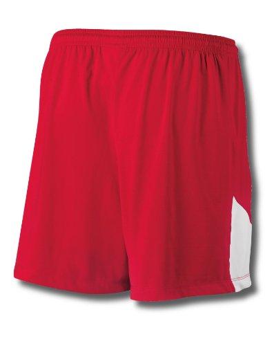 Mester Doble Dry® Strekk Kvinnelacrosse / Felt Hockey Shorts # L531 Atle Royal / Hvit