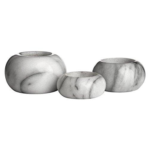Prem Storage - Premier 1001172 PREM-Set of 3 Storage, Marble