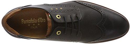 Pantofola d'Oro Rubicon Uomo Low, Derbys Homme Noir (Black .25y)