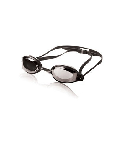 Speedo Air Seal XR Mirrored Swim Goggle, Black/Silver