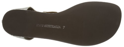 Argento Sandali Con Emu Australia Donna Zip argent Burnberry Zip Argent qwvxAv4B