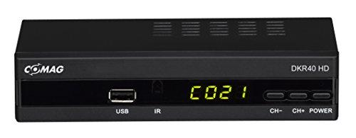 Comag DKR40 digitaler HD Kabel-Receiver (PVR Ready, HDTV, DVB-C, Time Shift-Funktion, HDMI, SCART, USB 2.0) schwarz