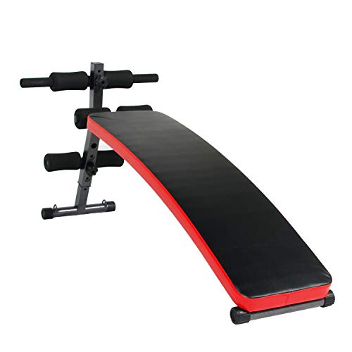 soges Decline Exercise Bench Roman Chair Workout Bench Hyper Extension Sit Up Bench Slant Board