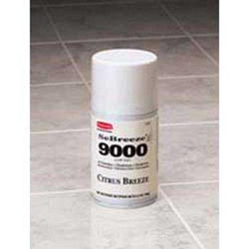 Sebreeze Fragrance Canister - Rubbermaid 5158 SeBreeze 9000 Spring Garden Odor Neutralizer Aerosol Canister