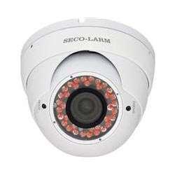 Seco-Larm Enforcer Ball Camera, 700TV, Vandal-Resistant, 100 Ft., White (EV-2706-NFWQ)