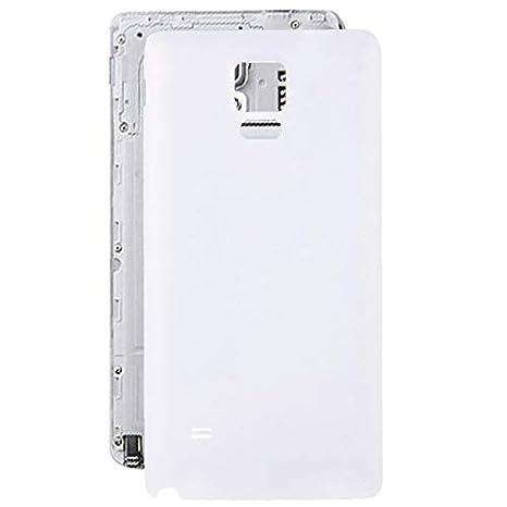 XHC Batería de Tapa Trasera Reemplazo de la Cubierta Posterior de la batería para Samsung Galaxy Note 4 / N910 (Color : Blanco)