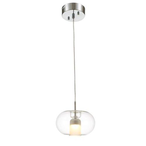 Glass Round Pendant Light in US - 7