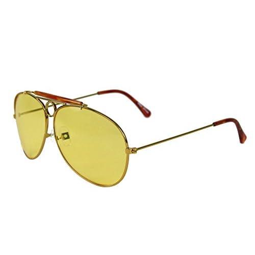 24b29db2a4ee 70% OFF Largemouth - Gafas de sol - para hombre Amarillo amarillo Taille  unique