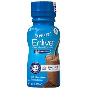 Ensure Enlive Chocolate 8 Ounce [Case of 24] by Abbott