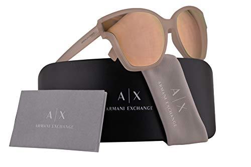 AX Gafas 4073S ópalo AX4073S efecto mm 4073 espejo de Armani mate AX espejo sol 63 Exchange 82504ZAX4073 efecto qwCSf0x4t