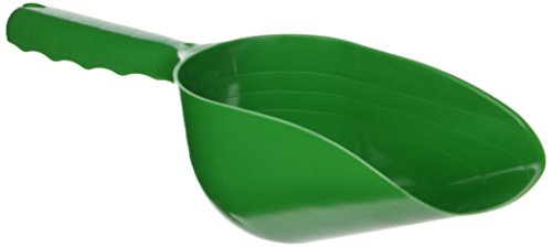 - SE GP3-SS21 Green Plastic Hand Trowel/Scoop with 2 Cup Capacity