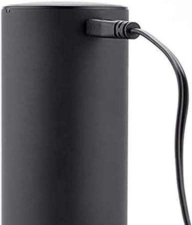 Abrebotellas de Vino eléctrico automático con sacacorchos con Cargador USB Abridor de Botellas de Vino eléctrico Plateado