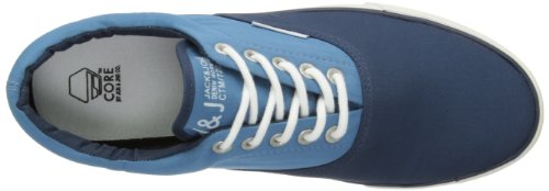 JACK & JONES JJ Kos Low JI Core 12064415 - Zapatillas de deporte de lona para hombre Multicolor (Mehrfarbig (DRESS BLUE))
