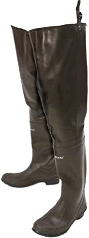 Frogg Toggs Classic Rubber Bootfoot Hip Wader, Cleated Outsole