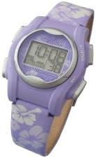 Pivotell Vibralite Mini montre rappel Motif floral Violet