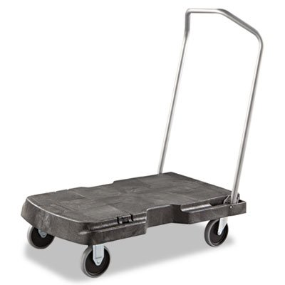 Triple Trolley, 500-lb Cap, 20-1/2w x 32-1/2d x 7h, Black, Sold as 1 Each (Triple Trolley)