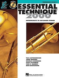 Hal Leonard Essential Technique for Band - Trombone (Book 3 with EEi) by Hal Leonard