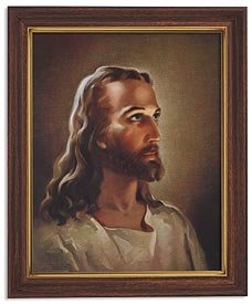 Sallman: Head of Christ.