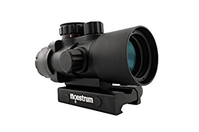 Monstrum Tactical S330P Ultra-Compact 3x Prism Scope by Monstrum Tactical