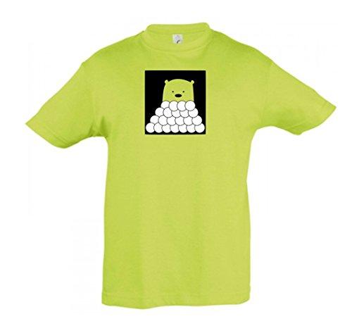 2store24 Pour Apple Green Garçon Et Enfants Ours Couleurs Motifs Plusieurs Polaire En Shirt Fille IrcqUwROI7
