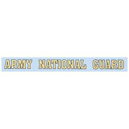(Mitchell Proffitt Army National Guard - Window Strip Decal )