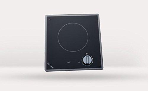 Kenyon B41704 Cortez Single Burner Cooktop, black with analog control - 6 .5 inch 120V UL