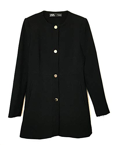 Zara Women Snap-Button Frock Coat 2140/349 (Medium) for sale  Delivered anywhere in USA